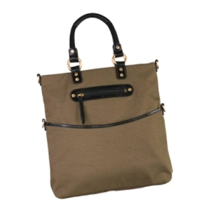 Mia folding tote in Olive